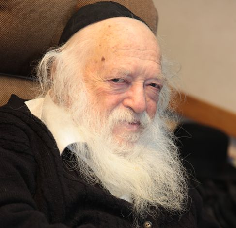 The great Rabbi Chaim Kanievsky Shlita